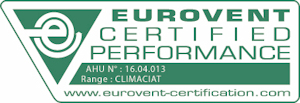 Certification Eurovent Climaciat